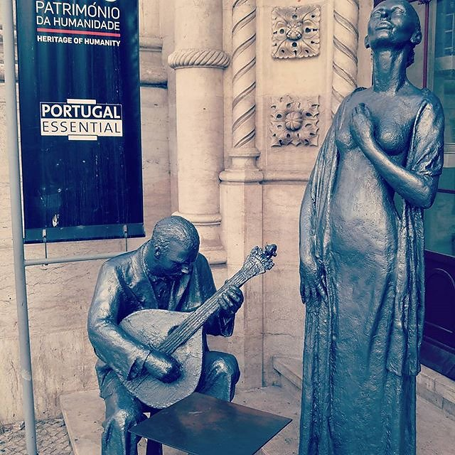 Faro music - omnipresent in #Lisbon #Portugal